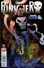 The Punisher #1 Comic Block Variant