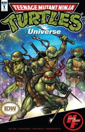 Teenage Mutant Ninja Turtles: Universe #1 Heroes & Fantasies Exclusive Variant Cover