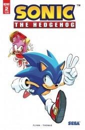 Sonic the Hedgehog #2 2nd Printing Variant