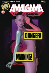 Amalgama Space Zombie #6 Cover F Herman Risque