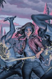 Buffy the Vampire Slayer #11 Cover C Connecting Moris Variant