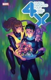 X-Men / Fantastic Four #1 Meghan Hetrick Flower Variant Edition
