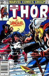 The Mighty Thor #333 Newsstand Edition