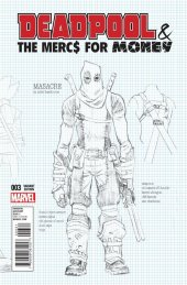 Deadpool & The Mercs for Money #3 Hawthorne Variant