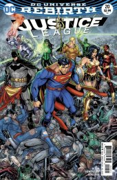 Justice League #20 Variant Edition