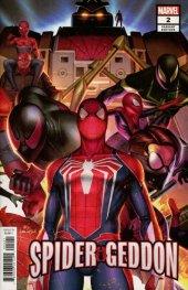 Spider-Geddon #2 InHyuk Lee Connecting Variant