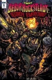 TMNT: Bebop & Rocksteady Destroy Everything #1 Subscription Variant