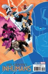 The Uncanny Inhumans #18 Shalvey Variant