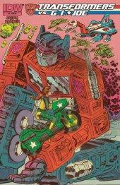 Transformers vs. G.I. Joe #4 Retailer Incentive
