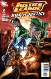 Justice League: Cry For Justice #2 Original Cover