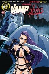Vampblade: Season 4 #11 Cover C Rudetoons Reynolds