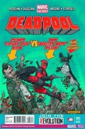 Deadpool #3 3rd Printing