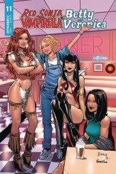 Red Sonja & Vampirella Meet Betty & Veronica #11 Cover C Braga