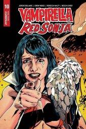 Vampirella / Red Sonja #10 1:7 Mooney Homage Cover