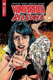 Vampirella / Red Sonja #10 1:7 Mooney Homage Cover