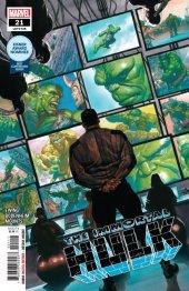 The Immortal Hulk #21 Original Cover