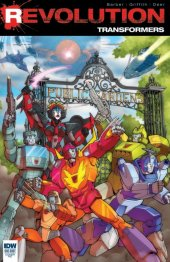 Transformers: Revolution #1 RE Cover (Giant Robot Comics Exclusive Cover)