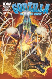 Godzilla: Rulers of Earth #14 Jeff Zornow Variant