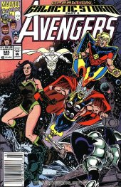 The Avengers #345 Newsstand Edition