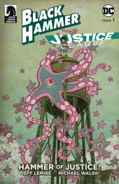 Black Hammer / Justice League: Hammer of Justice #1 Cover E  Shimizu