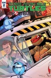 Teenage Mutant Ninja Turtles / Ghostbusters 2 #2 1:10 Tran Variant