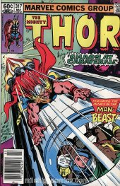 The Mighty Thor #317 Newsstand Edition