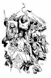 Mighty Morphin Power Rangers / Teenage Mutant Ninja Turtles #2 1:50 Incentive