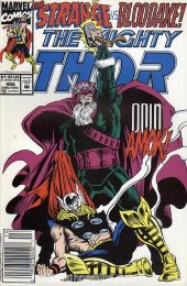 The Mighty Thor #455 Newsstand Edition