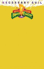 Mighty Morphin Power Rangers #50 OASAS Comics Exclusive Yellow Blank Variant