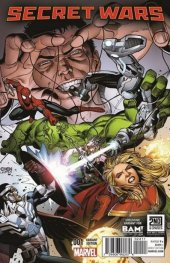 Secret Wars #1 Books-A-Million Variant Edition