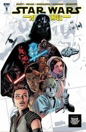 Star Wars Adventures #1 LCSD 2017 Variant