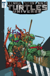 Teenage Mutant Ninja Turtles: Universe #11 10 Copy Retailer Incentive Variant