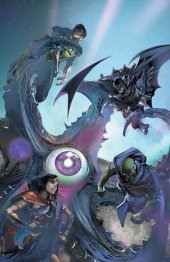 Justice League #1 Clayton Crain Variant C