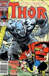 The Mighty Thor #376 Newsstand Edition