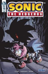 Sonic the Hedgehog #15 Cover B Skelly