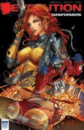 Transformers: Revolution #1 Variant Edition Black