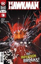 Hawkman #22 Original Cover