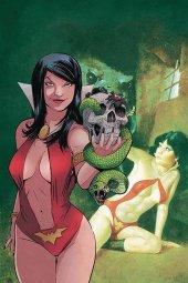 Vampirella / Red Sonja #5 1:30 Moss Virgin Cover