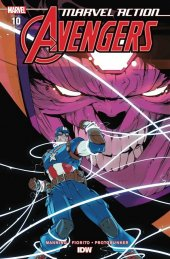 Marvel Action: Avengers #10 1:10 Incentive Variant