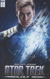 Star Trek: Boldly Go #1 Cover E Incentive Photo Variant