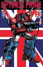 Optimus Prime #1 RE-B Cover (Diamond UK - Retailer Summit)