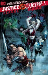Justice League vs. Suicide Squad #1 DCBS Variant Edition