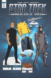 Star Trek: Boldly Go #1 Retailer Incentive B