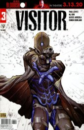 The Visitor #3 Cover D Pre-Order Edition