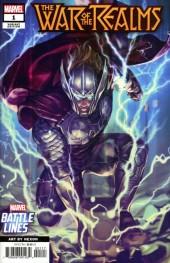 War of the Realms #1 Marvel Battle Lines (Nexon) Variant