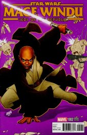 Star Wars: Jedi of the Republic - Mace Windu #2 Nakayama Variant