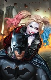 Justice League vs. Suicide Squad #1 Ashley Witter Virgin Variant