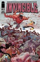 Invincible #100 Cover G Ottley Wrap