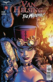 Van Helsing vs. The Werewolf #5 Cover D Metcalf