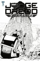 Judge Dredd: Under Siege #1 1:10 Incentive Variant